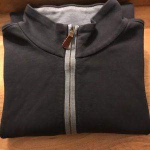 Banana Republic comfy half-zipper sweater